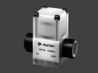 Furon® HPV Diaphragm Valve, Pneumatically Actuated, 2 & 3-Way