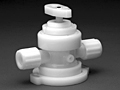 Furon® UPX 2000 Diaphragm Valve Manually Actuated, 2-Way 1/4 Turn