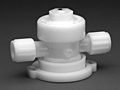 Furon® UPX 2000 Diaphragm Valve Pneumatically Actuated, 2-Way