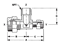 Male Branch Tee Reducer-2