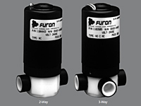 Furon® DVX Solenoid Valve, Electrically Actuated, 2 & 3-Way