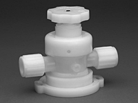 Furon® UPX 2000 Diaphragm Valve Manually Actuated, 2-Way Multi-Turn